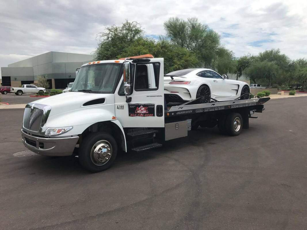 Towing A Bugatti From San Tan Valley To Mesa, AZ